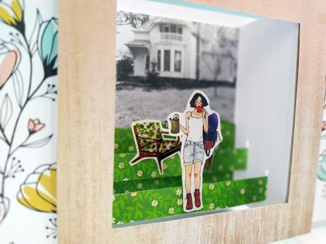 Card Pop up scenografia - Shutter Scene