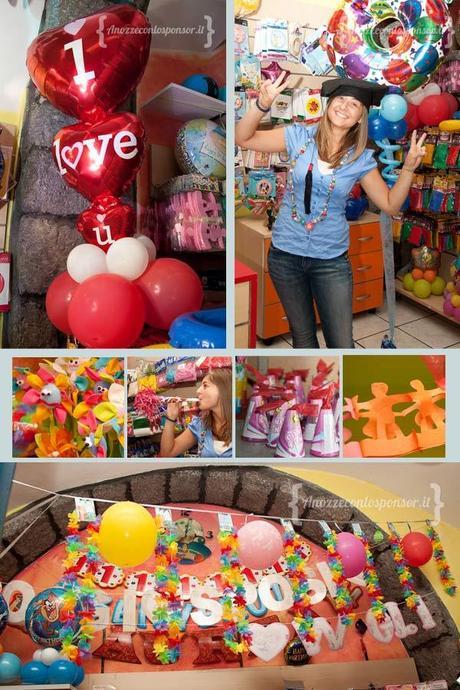 Balloon party idea party addobbi per feste e giochi for Addobbi per feste