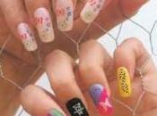 Smalti colorati disegni unghie