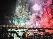Redentore, oltre mila fuochi d'artificio tricolori