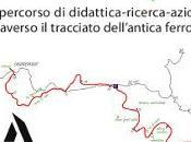 strada parla. Sardegna seminario itinerante attraverso tracciato un'antica ferrovia.