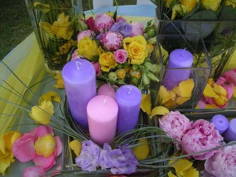 Il fascino delle candele paperblog - Candele per bagno ...