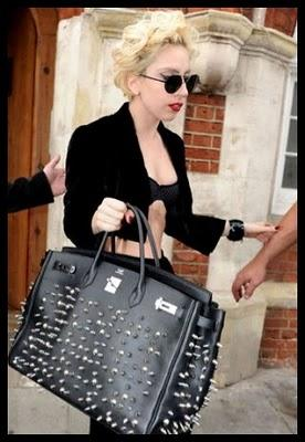 Lady Gaga and her Hermès Birkin Bag destroyed - part 2