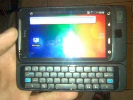 HTC Vision, QWERTY ed Android per HTC?