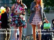 Primi Look Blake Lively Leighton Meester Gossip Girl Parigi