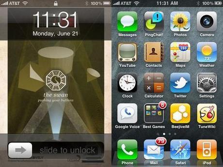 iOS 4.0: gli sfondi personalizzati della home screen