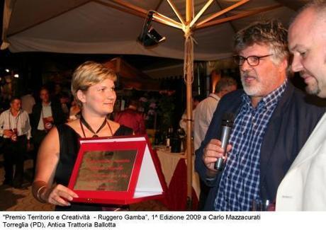 Cinema Estate ai Colli Euganei 2010, Premio Gamba a Torreglia il 13 luglio e drive in cabrio all'Antica Trattoria Ballotta. Iniziative Km Zero