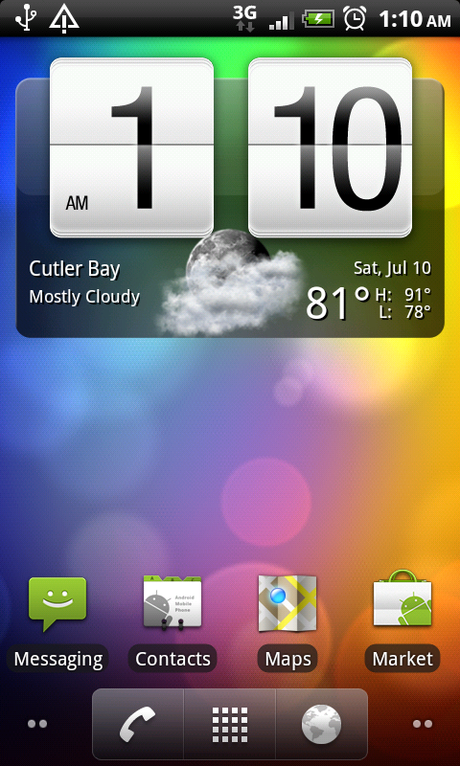HTC ONE M7 LIVE WALLPAPER