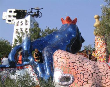 Il giardino dei tarocchi di niki de saint phalle paperblog - Il giardino dei tarocchi ...