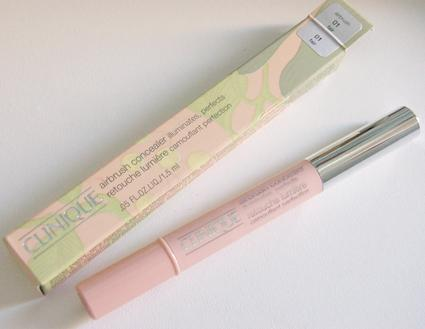 A close up on make up n°7: Clinique Airbrush Concealer 01 Fair