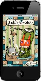 Le striscie di Inkspinster diventano una App per i dispositivi Apple