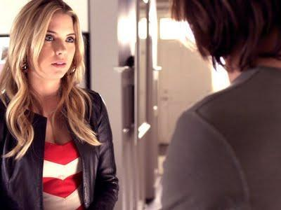 Pretty Little Liars 2×05 'The Devil You Know': Hanna's outfits