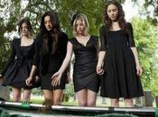 Pretty Little Liars 2×05 'The Devil Know': total black Aria, Hanna, Emily Spencer