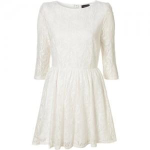 Gossip Girl 5: Blair Waldorf in white dress