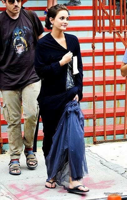 Moda Blair Waldorf In Jenny Packham L W Or
