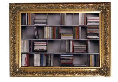 Libreria cornice barocca porta cd design myartistic - Porta cd design ...