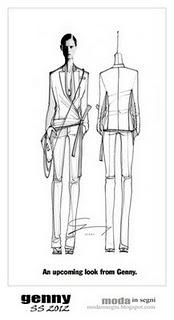 Genny Spring Summer 2012 Preview (SKETCHES)