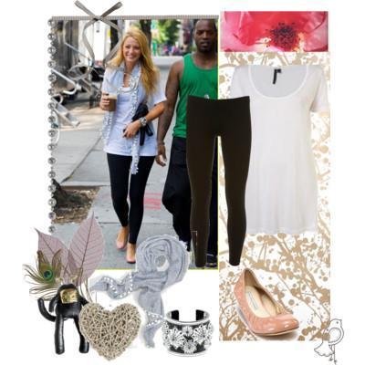 Gossip Girl 5: Serena Van Der Woodsen outfit Paperblog