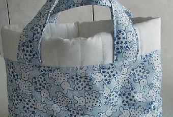Cucito creativo una borsa porta oggetti da b b paperblog - Borsa porta bebe ...