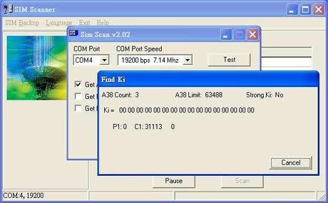 8 sim scanner found ki Clona la tua sim card in semplici passi (Guida illustrata)