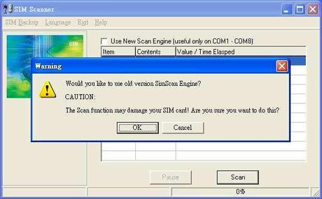 12 scan caution Clona la tua sim card in semplici passi (Guida illustrata)