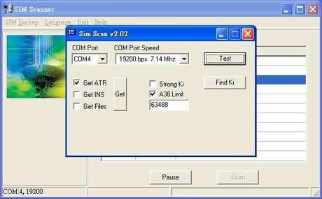 5 sim scan v202 Clona la tua sim card in semplici passi (Guida illustrata)