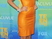 Blake Lively Orange Teen Choice Awards 2011