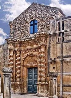 Palazzolo acreide chiesa di dell 39 annunziata paperblog for Colonne esterne di stile dell artigiano