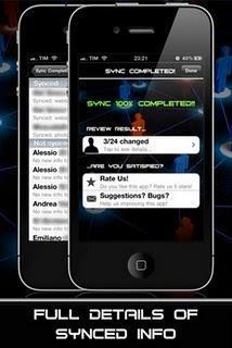 Sincronizza e importa facilmente i tuoi contatti con l'app AllSync vers 3.1