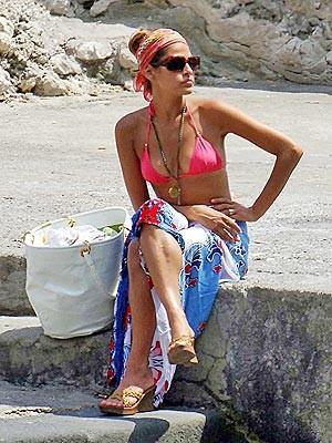 Capelli corti in spiaggia