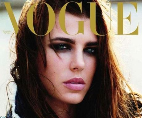 Charlotte on Vogue Paris