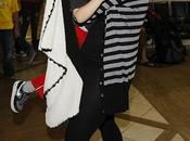 Perché figlio Christina Aguilera faccia livida scura?
