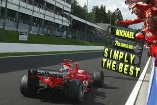 Kings of Spa/1: Michael Schumacher (e buon anniversario!)