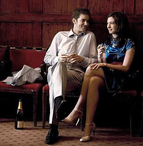 Controversial: Anne Hathaway and Jim Sturgess in the film version of One Day. Book lovers say she is too pretty to play Emma