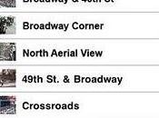 L'app osservare Times Square Live