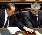 Bossi sulle pensioni aveva parola sola. caduto sigaro ricorda più. parlato Berlusconi.