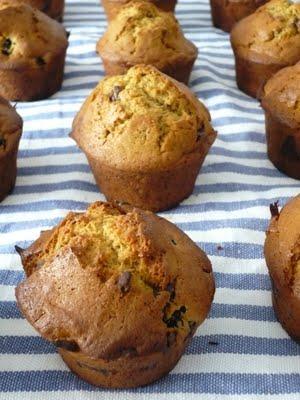 I muffin alle more selvatiche. Con fuga sulla luna.