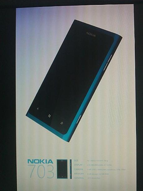 Nokia 703 : Il nuovo smartphone Nokia con Windows Phone 7 Mango? – Prime caratteristiche tecniche