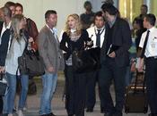 Madonna arriva venezia