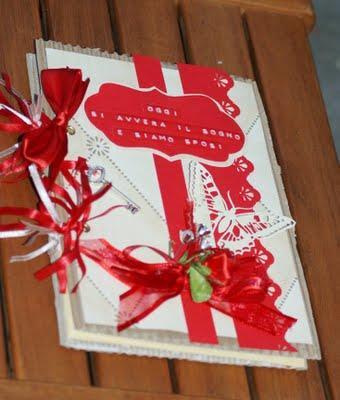 Buongiorno!!!Un guestbook da matrimonio è un diario in cui gli ...