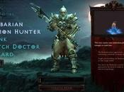 Diablo III, nuove immagini trapelate dalla Beta chiusa, menu, loading personaggi