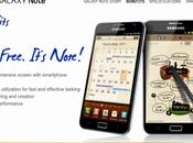 Samsung dedica sito nuovo super smartphone Android Galaxy Note