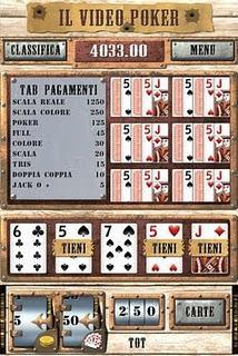 -GAME-Il Video Poker.