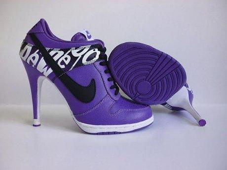 scarpe con tacco nike