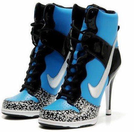 scarpe nike tacco
