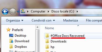 Office Regenerator: recuperare documenti Microsoft Office perduti