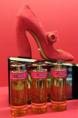 Prada profumo Candy per la Vogue Fashion's Night Out 2011 Milano e Roma