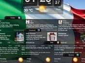 Sveglia iPad Reti Sociali, Meteo Allarme