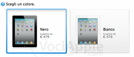 Apple Store OffLine? Introdotta nuova procedura d'acquisto ordine per l'iPad !