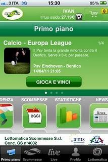 Le scommesse sportive con Better vers 3.0 per iPhone